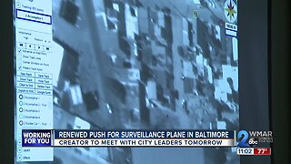 Renewed push for surveillance plane in Baltimore
