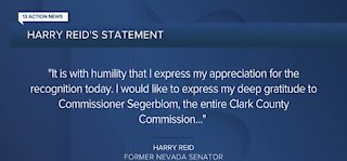 Harry Reid responds to commission's vote to rename Las Vegas airport in his honor