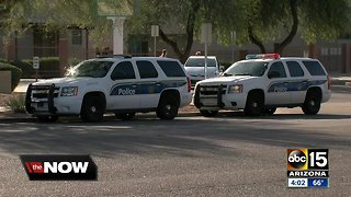 Three-year-old hit by car at Phoenix middle school