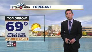 Warmer weather ahead to start October - Video