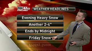 Dustin's Forecast 12-13 - Video