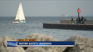 Rescue crews warn of cool lake temperatures - Video