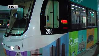 Ridership falls on Detroit's QLine after free rides end - Video