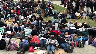 Baltimore Students Stage 'Lie-In' for Gun Control - Video