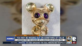 Are you missing this gold mouse pin? - Video