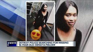 Detroit police looking for missing 16-year-old girl