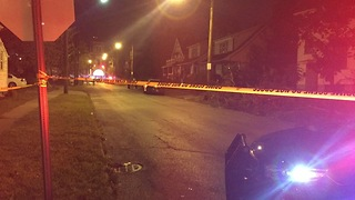 3 shot on Cleveland's east side - Video