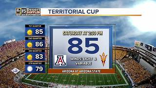 Heating up for the Territorial Cup! - Video