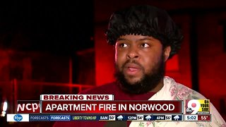 Apartment fire in Norwood under investigation