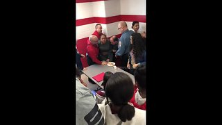 Student repeatedly punched by school officer at US high school