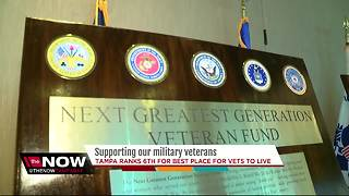 USF launches new veterans fund for students at university - Video