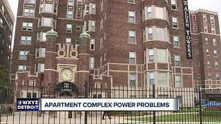Power problems at Detroit apartment - Video