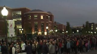 University of Nevada-Reno holds vigil - Video