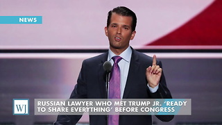 Russian Lawyer Who Met Trump Jr. 'Ready To Share Everything' Before Congress - Video