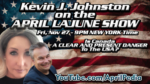 JOIN ME AND CANADIAN KEVIN J JOHNSTON FRESH FROM PRISON WITH A NEW BOOK!