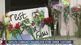 Sapulpa Community Mourns Store Owner And Customer