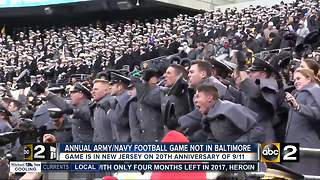 Army-Navy game won't be back in Baltimore for at least 6 years - Video