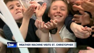 Weather Machine visits St. Christopher