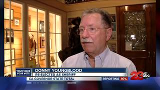 Youngblood unofficially wins bid for re-election