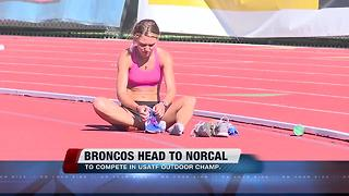 A Trio of Broncos will run in the USATF Outdoor Championships - Video
