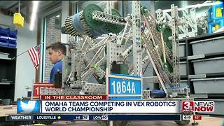 ITC: Omaha North Robotics Team Competes at World Competition - Video