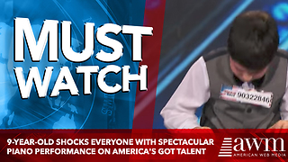 9-Year-Old Shocks Everyone With Spectacular Piano Performance On America's Got Talent - Video