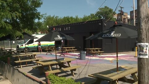 Platform Brewery creates new outdoor beer garden made up of themed shipping containers
