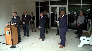 FULL NEWS CONFERENCE: Palm Beach County leaders talk about beach, business closures due to coronavirus