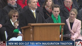 Greitens sworn in as Missouri's 56th governor - Video