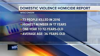 Domestic violence-related deaths on the rise in Wisconsin, report says - Video