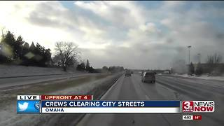 Crews clear Omaha streets - Video