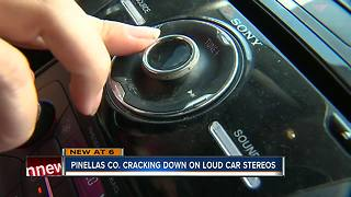 Pinellas deputies are cracking down on loud car stereos - Video