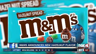 M&M's coming out with Hazelnut spread flavor