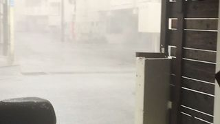 Tropical Storm Saola Brings Heavy Wind and Rain to Southern Japan - Video