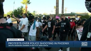 Protests over police shooting in Phoenix
