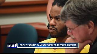Emotions run high as Boise mass stabbing suspect appears in court