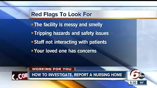 How to investigate, report nursing homes
