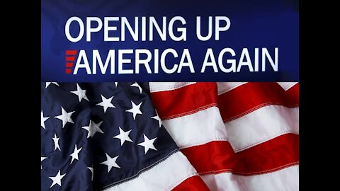 Open Up America --- please share this 😀😀😀