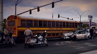Dozens of Clark County School District buses already involved in crashes - Video