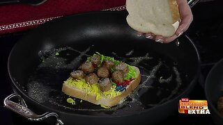 Blend Extra: Colorful Grilled Cheese with Sausage