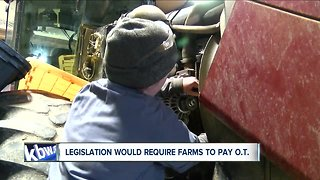 Farmers frustrated over proposed labor bill