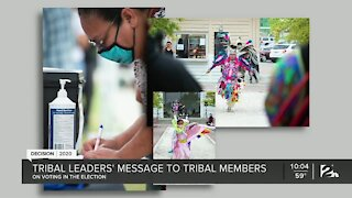Native American leaders say more natives engaged in election