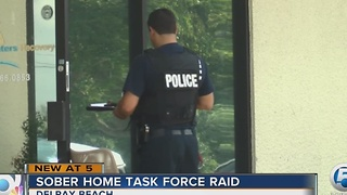 Sober Home Task Force raid - Video