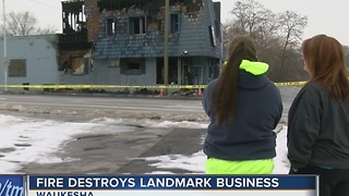 Owner plans to rebuild historic Waukesha bowling alley - Video