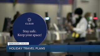 Holiday travel plans at Detroit Metro Airport