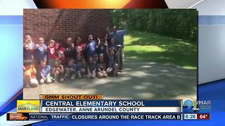 Good morning from students at Central Elementary School! - Video