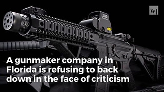 Gunmaker Refuses To Apologize For 'Not Today Antifa' Ad - Video