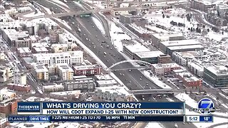 What's Driving You Crazy? I-25 expansion concerns
