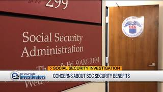 Hundreds of viewers voice problems, concerns with social security benefits