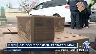 Girl Scout cookie sales start Sunday - Video